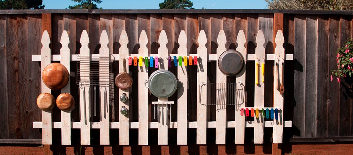 Музыкальный забор