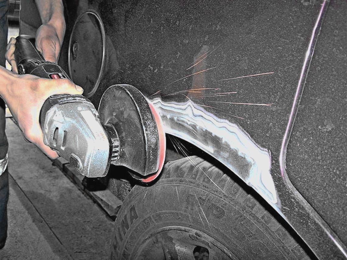 Способы избавления от ржавчины на авто