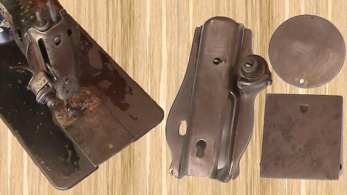 Как отреставрировать металлическую деталь